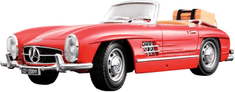 BBurago Model 1:18 Mercedes Benz 300 SL Touring (1957) czerwony