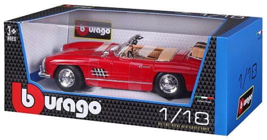 BBurago Model 1:18 Mercedes Benz 300 SL Touring (1957) czerwony