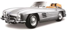 BBurago Model 1:18 Mercedes Benz 300 SL Touring (1957) srebrny