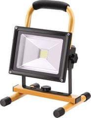 Extol Light Svietidlo nabíjateľné LED, 20W, 1400lm, 11,1V Li-ion, 4400mAh, IP65, 12+230V