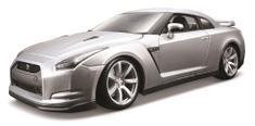 BBurago model 2009 Nissan GT-R 1:18, srebrni