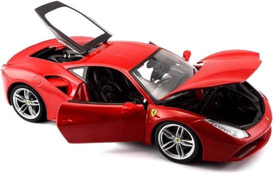 BBurago Model 1:18 Ferrari 488 GTB czerwony