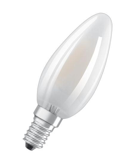 Osram LED FIL CL B GL FR 40, nestmívatelné, 4 W / 827, E14, 3 ks