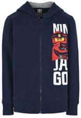 LEGO Wear fiú pulóver Ninjago, 92, kék