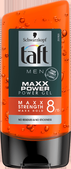 Taft Maxx Power gel za kosu, za muške, Maxx Strenght 8