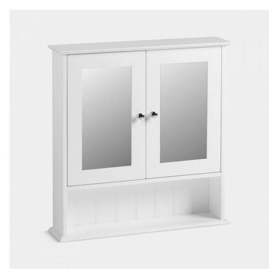 VonHaus Colonial viseći ormarić s ogledalom (3009005)
