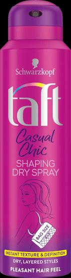 Taft Casual Chic suhi sprej za kosu, 150 ml