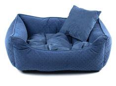 Vsepropejska Snug tmavě modrý pelech pro psa Rozměr: 55 x 45 cm