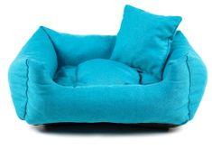 Vsepropejska Lux modrý pelech pro psa Rozměr: 55 x 45 cm