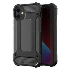 MG Hybrid Armor plastika ovitek za iPhone 12 / 12 Pro, črna