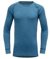Devold chlapčenské funkčné tričko BREEZE JUNIOR SHIRT 140 modrá