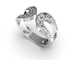 Jewstone Stříbrný prstýnek, 54 cm
