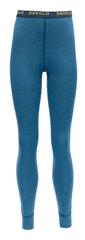 Devold legginsy funkcjonalne chłopięce BREEZE JUNIOR LONG JOHNS 140 niebieskie
