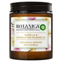 Air wick Botanica sveča Vanilija in himalajska magnolija, 205 g