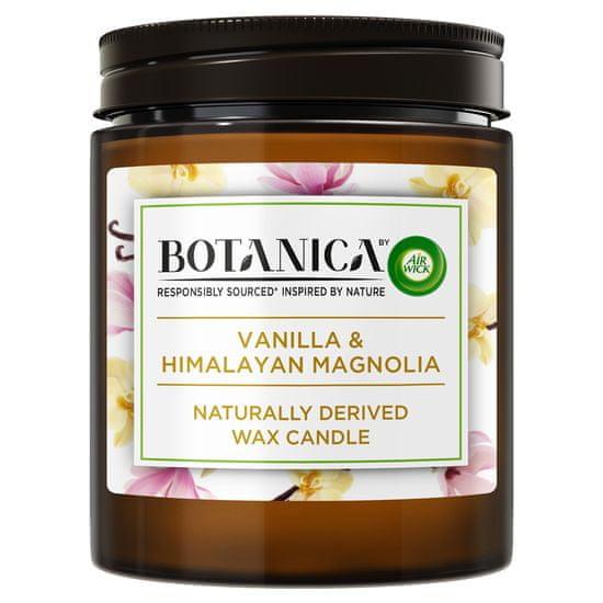 Air wick Botanica by svíčka - Vanilka a himalájská magnolie 205 g