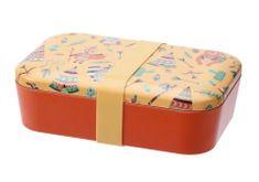 Koopman Svačinový box eko z bambusových vláken 19 x 13 x 5,5 cm, oranžová