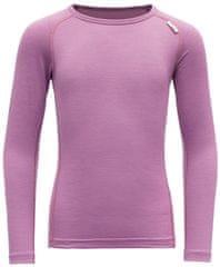 Devold dievčenské funkčné tričko BREEZE KID SHIRT, ružová, 92