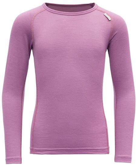 Devold dievčenské funkčné tričko BREEZE KID SHIRT