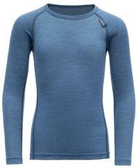 Devold chlapčenské funkčné tričko BREEZE KID SHIRT, modrá, 92