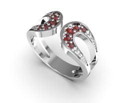 Jewstone Stříbrný prstýnek, 62