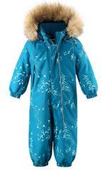 Reima detský zimný overal Lappi 74 modrá