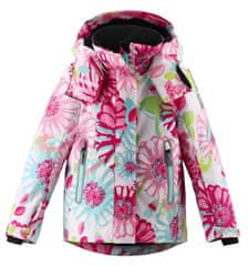 Reima dívčí lyžařská bunda Roxana 110 růžová