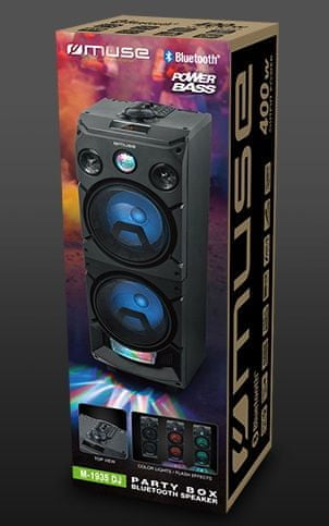 Muse M-1935 DJ Party Box Bluetooth zvočnik