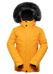 ALPINE PRO detská bunda Icybo 4 116 - 122 oranžová