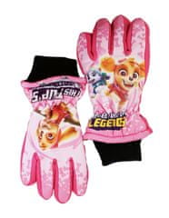 "SETINO Dekliške smučarske rokavice ""Paw Patrol"" - roza - 7–8 let"