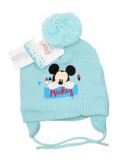 """SETINO Chłopięcy czapka zimowa """"Myszka Miki"""" - jasny niebieski - 48 cm"""