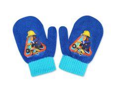 """SETINO Chlapčenské rukavice """"Požiarnik Sam"""" - svetlo modrá - 10x13cm"""
