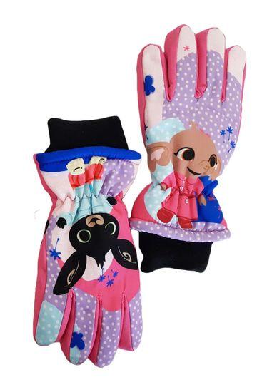 "SETINO Dekliške smučarske rokavice ""Bing"" - roza"
