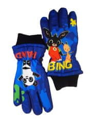 """SETINO Chłopięce rękawiczki narciarskie """"Bing"""" - niebieski - 7–8 lat"""