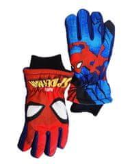 "SETINO Fantovske smučarske rokavice ""Spiderman"" - modra - 7–8 let"