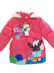 "SETINO Dekliška zimska jakna ""Bing"" - roza - 116 / 5–6 let"