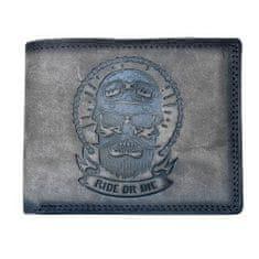 Kožená motorkárska peňaženka 06