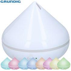 Grundig vlažilec/difuzor zraka in razpršilec eteričnih olj, LED ambientna osvetlitev v 6. barvah