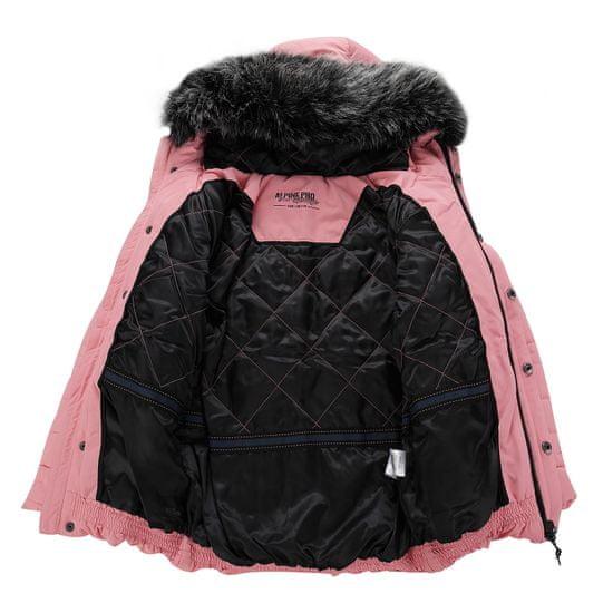 ALPINE PRO Icybo 4 dekliška bunda, 128 - 134, roza - Odprta embalaža