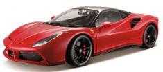 BBurago auto Ferrari Signature 488 GTB 1:18, czerwony