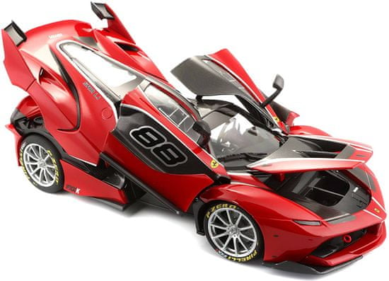 BBurago auto Ferrari Signature FXX K 1:18, czerwony