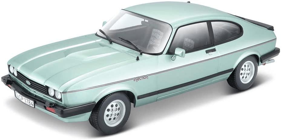 BBurago 1:24 Plus Ford Capri 1982 světle zelená