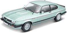 BBurago Model 1:24 Plus Ford Capri 1982 jasna zieleń