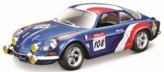 BBurago 1:24 Alpine Renault A110 1600S, kék
