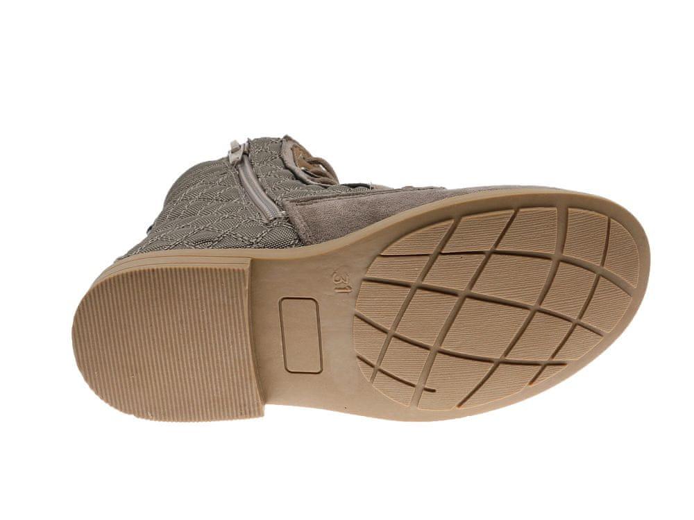 Beppi dívčí kotníčková obuv 2181120 30 hnědá