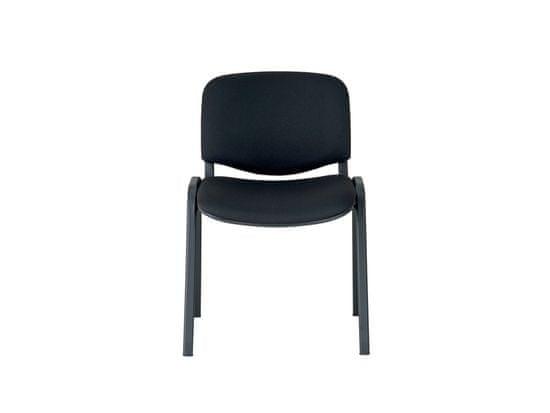 Nejlevnější nábytek Stohovatelná židle AMITIN, černá