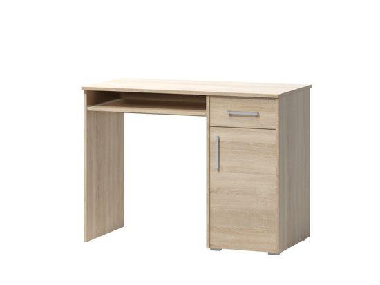 Nejlevnější nábytek Kancelářská sestava CALLAN 03, dub sonoma světlý