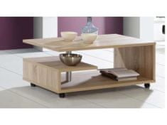 Nejlevnější nábytek ARAGON, konferenční stolek, dub sonoma, 5 let záruka