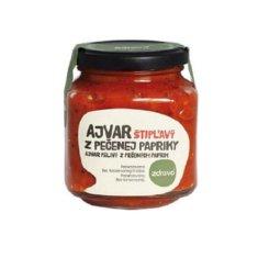 Zdravo organic Ajvar z pečenej papriky štiplavý 300g