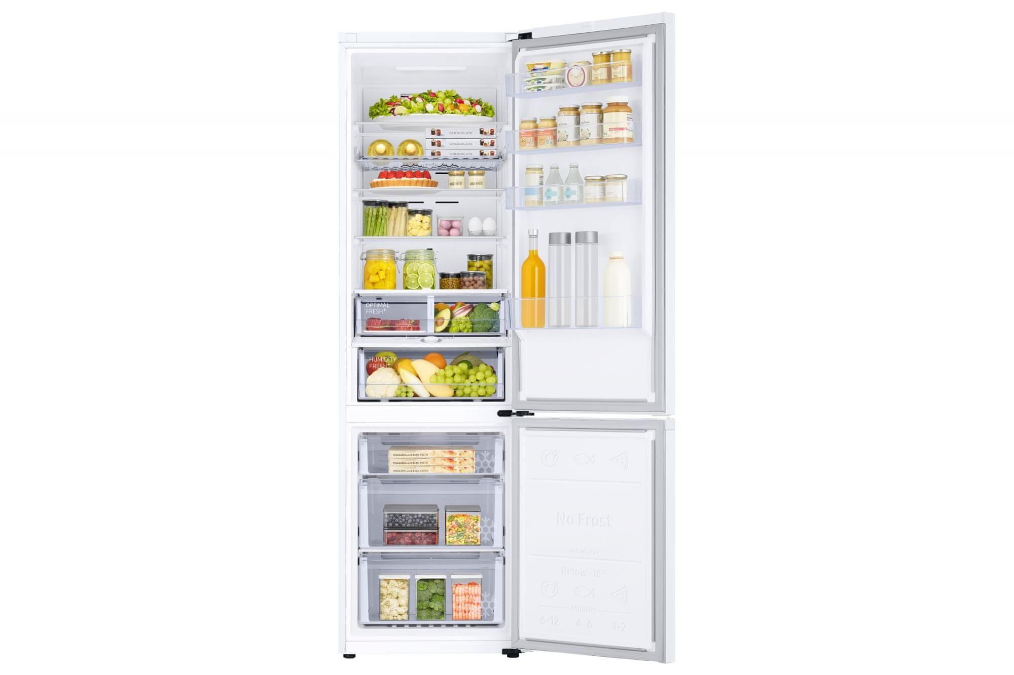 A Samsung RB38T605DWW/EF kombinált hűtő