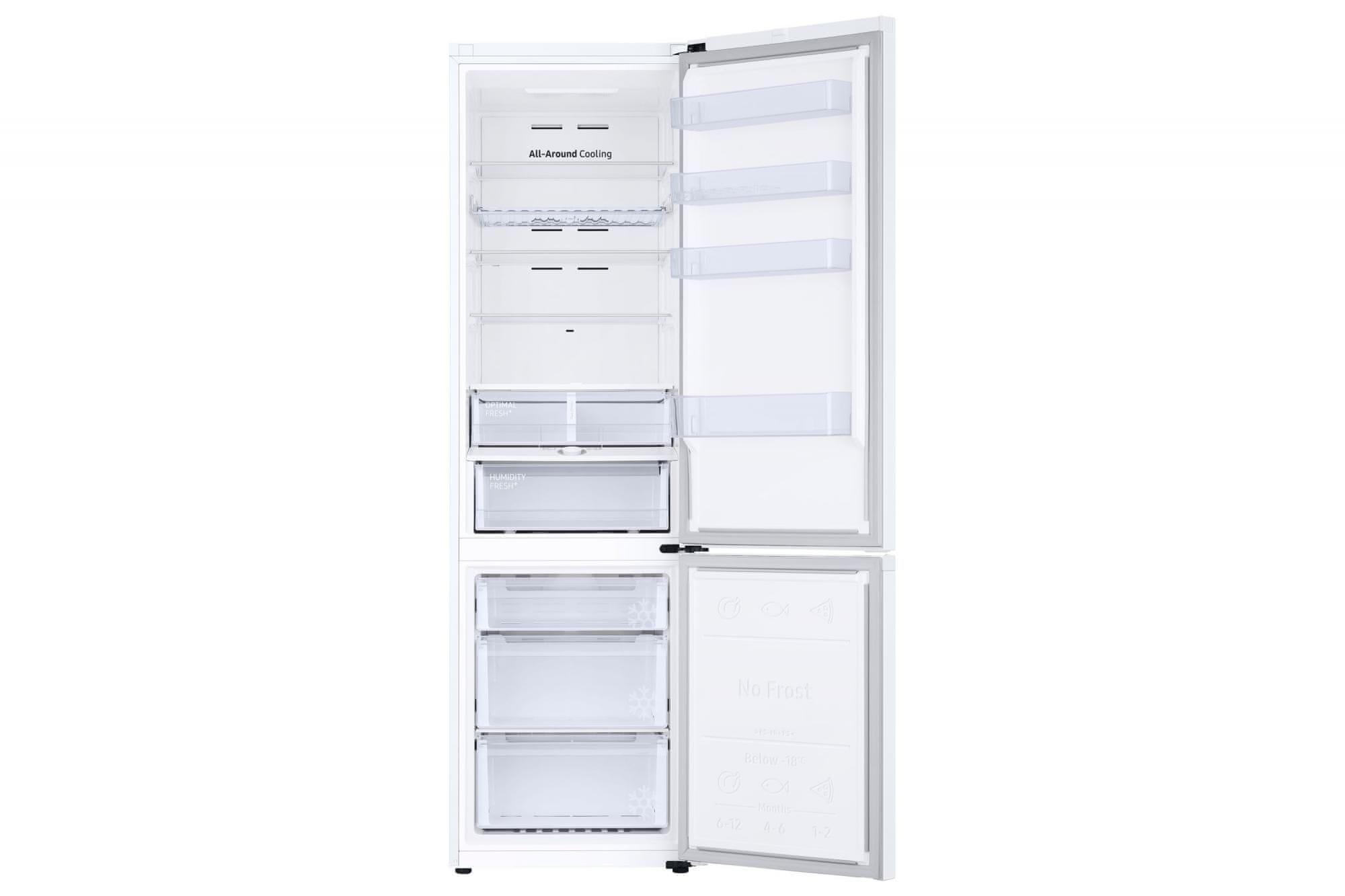 A Samsung RB38T605DWW/EF SpaceMax kombinált hűtő